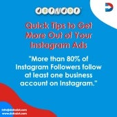 Quick Tips To Get More Out Of Your #Instagram #Ads