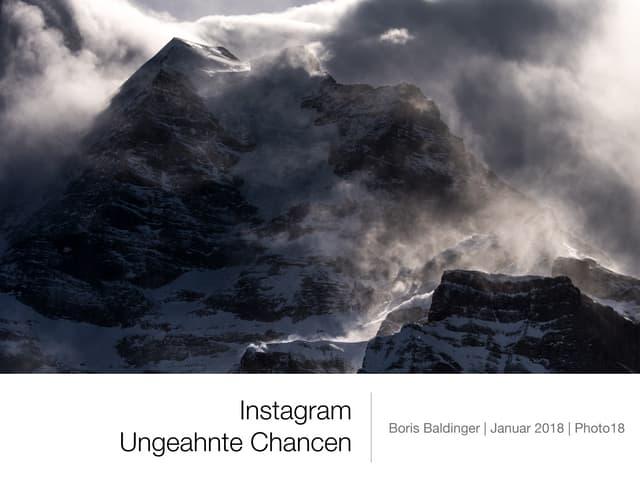 Instagram - Ungeahnte Chancen