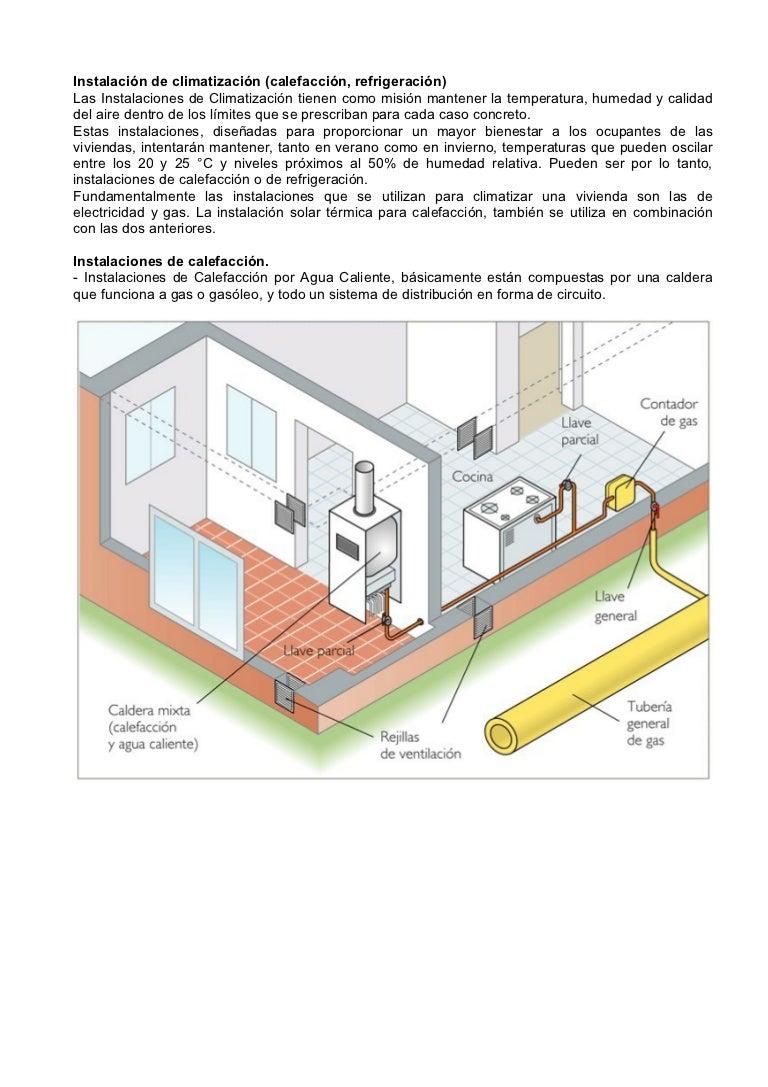 Sistemas de climatizacion para viviendas - Sistemas de calefaccion para viviendas unifamiliares ...