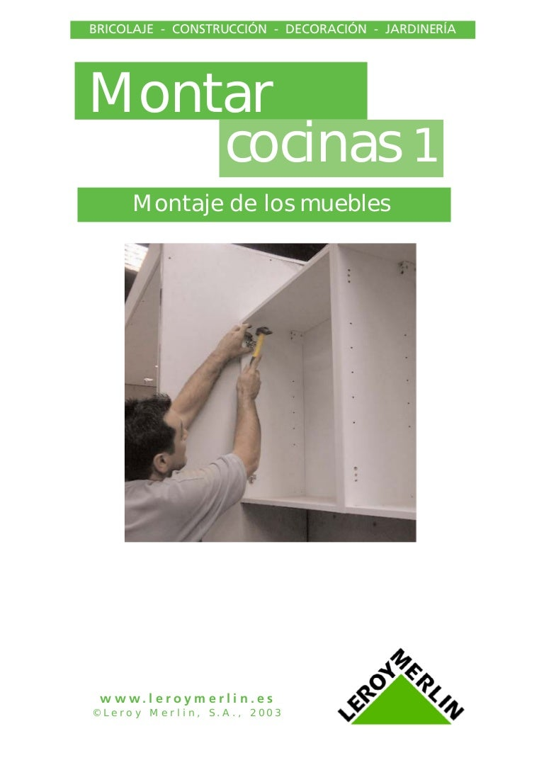 Instalacion De Muebles De Cocina 1