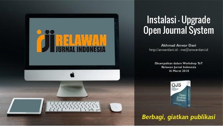Instalasi Upgrade Open Journal System