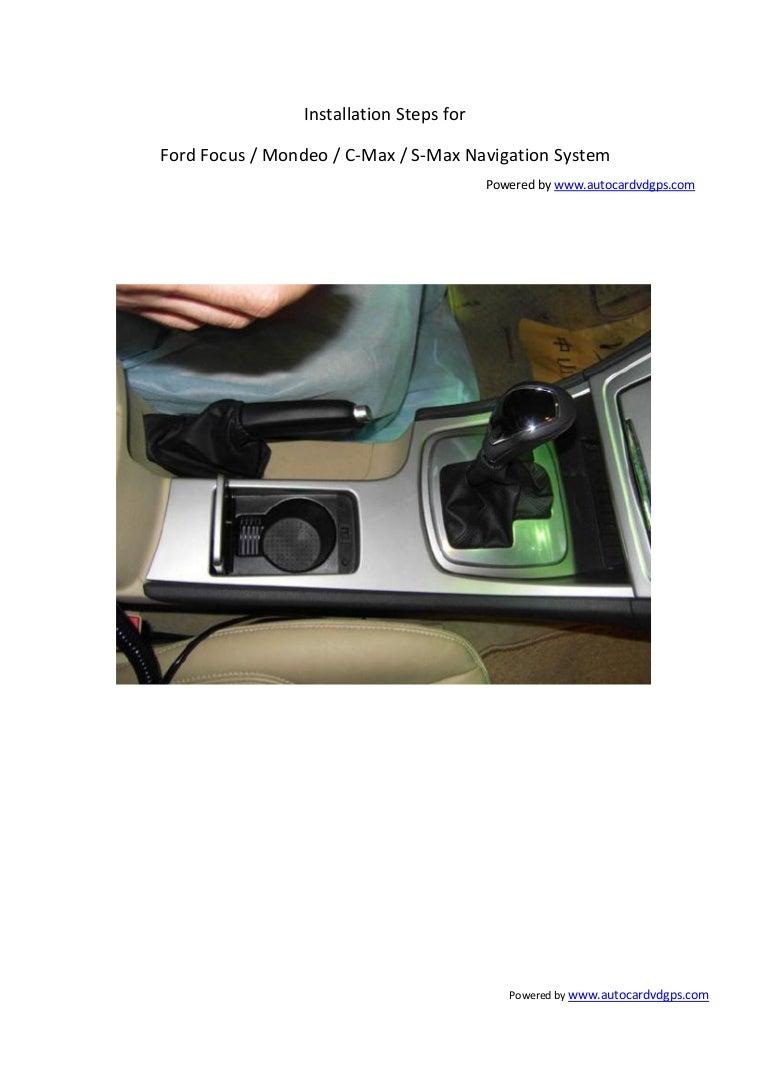 Autocardvdgps how to install the ford dvd gps www.autocardvdgps