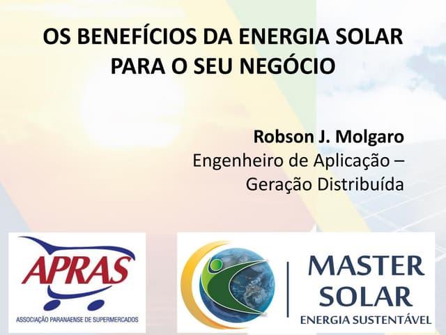 Benefícios da Energia Solar para o seu Negócio