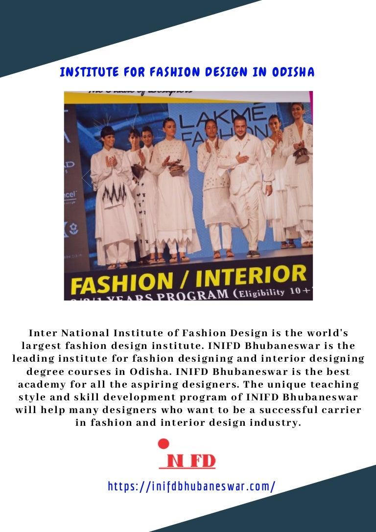 Institute For Fashion Design In Odisha