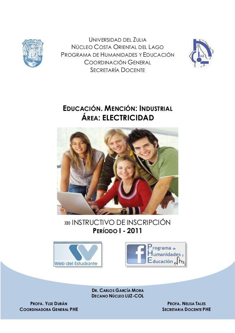 Instructivo i 2011 - electricidad