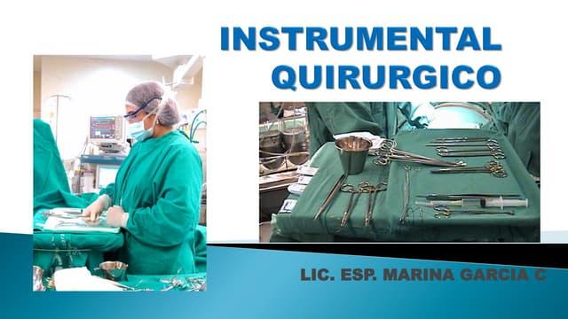 Instrumental quirurgico 2016