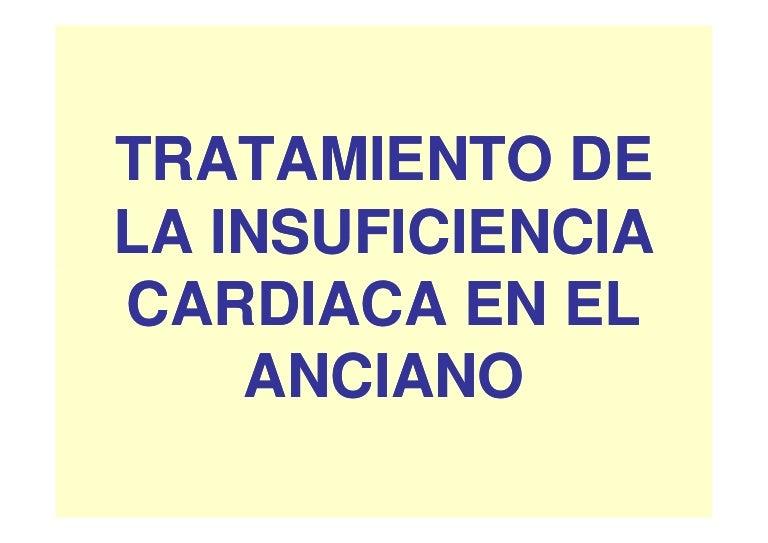 insuficiencia cardíaca congestiva en pacientes geriátricos con diabetes