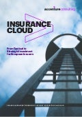 Insurance Cloud: From Tactical to Strategic Investment for European Insurers
