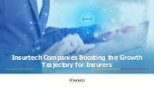Insurtech Companies Boosting the Growth Trajectory for Insurers
