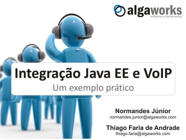 Integração Java EE e VoIP