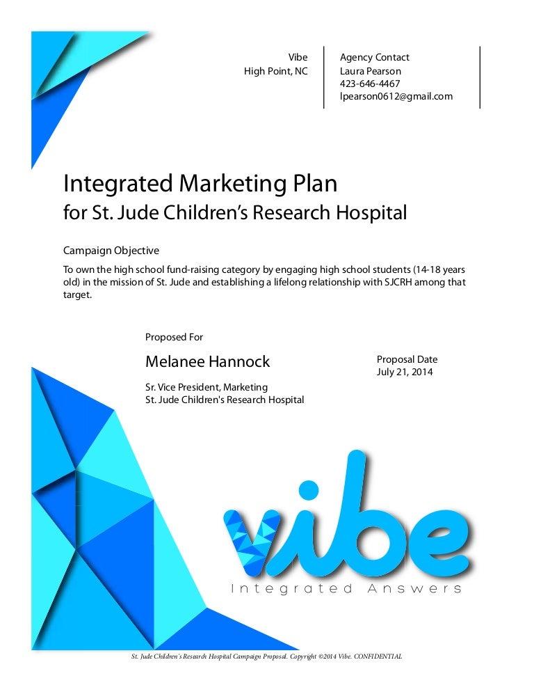 Integrated Marketing Plan - M.S. IMC Capstone Project - St. Jude Chil…