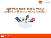 Integratie social media met online marketing