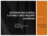 Integrating digital literacy and inquiry learning