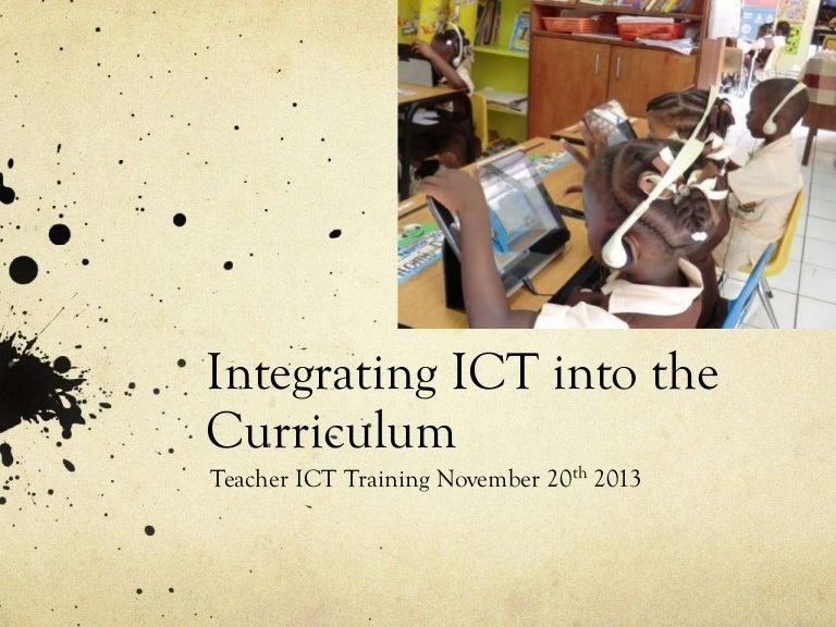 Integrating Ict Into Arteffective Curriculum Ideas