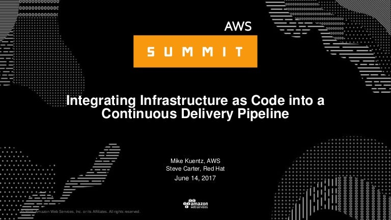 Integrating Infrastructure as Code into a Continuous Delivery Pipelin…