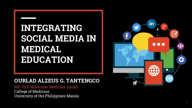 Integrating social media in medical education