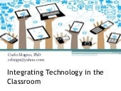Integrating technology in teaching