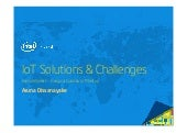 IOT Solutions and Challenges