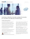 How Intel Connects with IT Leaders on LinkedIn