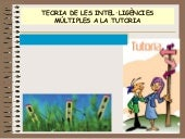 Inteligencies multiples per als alumnes