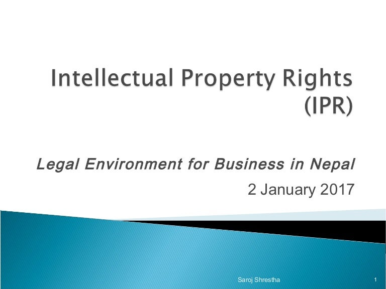 intellectual property rights research papers Tom pengelly of the commission on intellectual property rights has given various research suggestions and helped in a variety of ways as a colleague details for the author of this report: alan story, kent law school, university of kent.