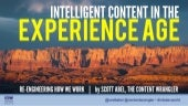 Intelligent Content in the Experience Age by Scott Abel, The Content Wrangler