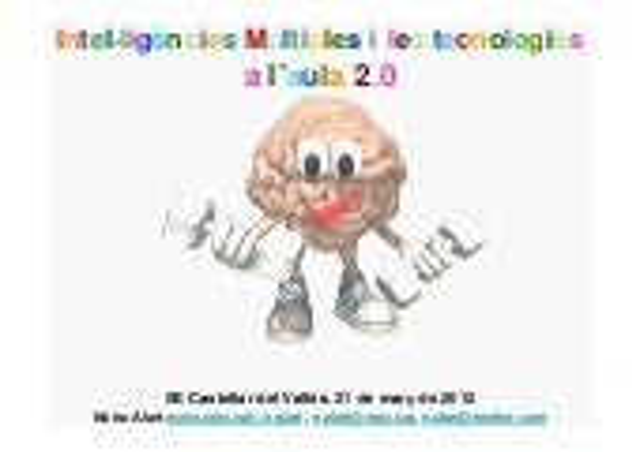Intel·ligències i tecnologies