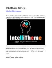 Intellitheme review | Get intellitheme discount