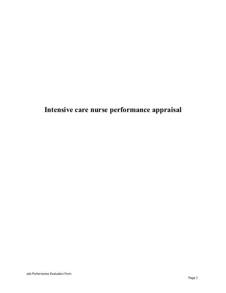 intensivecarenurseperformanceappraisal150515000303lva1app6892thumbnail4jpgcb 1431650513 – Icu Nurse Job Description