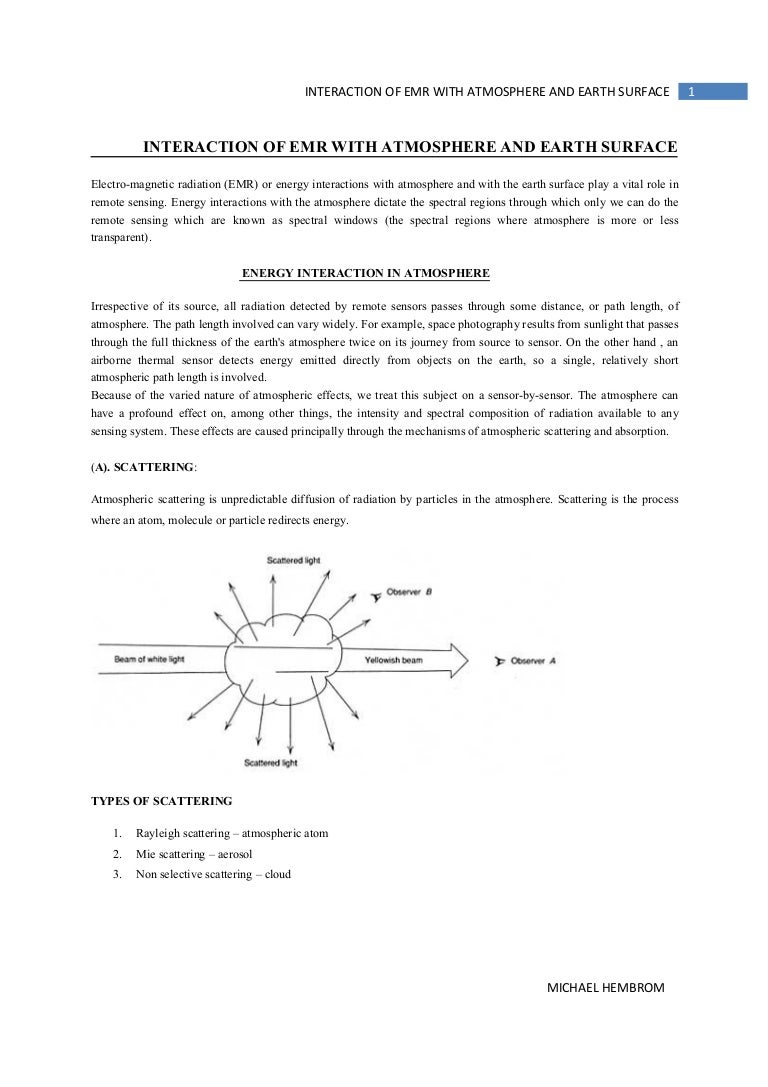 worksheet Characteristics Of Waves Worksheet interaction of emr with atmosphere and earth surface