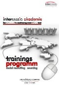 Social Recruiting - Talent Sourcing - Intercessio Seminar-Programm 2013 - 2014