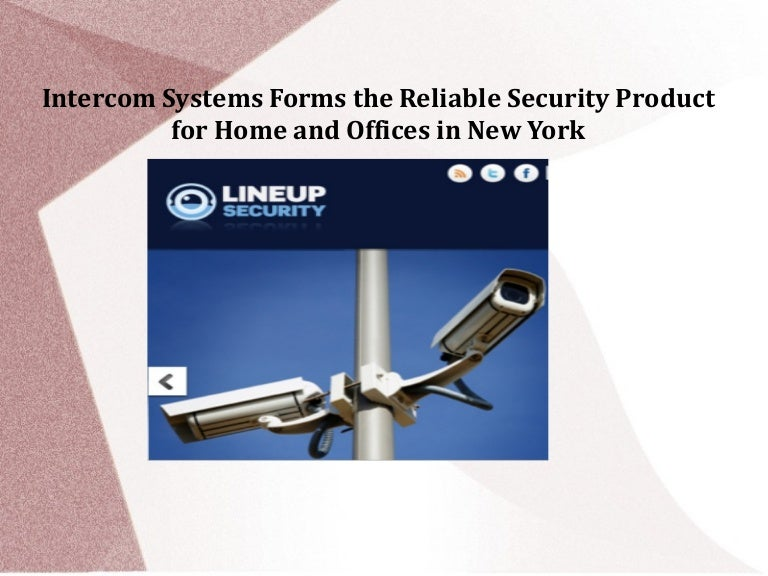 Intercom systems forms the reliable security product for home and off…