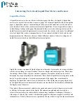 Interesting Facts about Liquid Flow Meters and Sensors