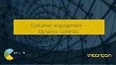 Intergen Convergence 2017 - Customer engagement (Dynamic Controls)