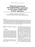 Integrated geoelectrical and geomagnetic