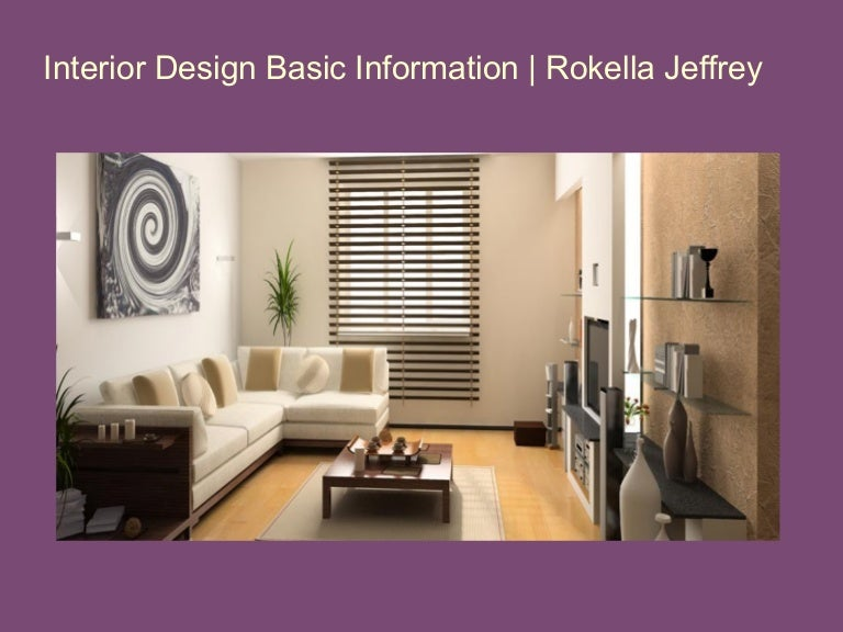 Interior Design Basic Information