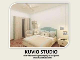 Kuvio Studio- Best Home Interior Design Company in Bangalore