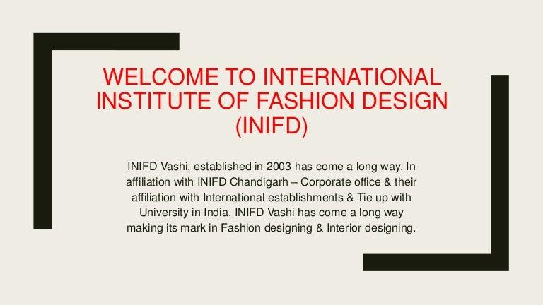 Inifd Vashi Interior Designing Institute In Navi Mumbai Interior
