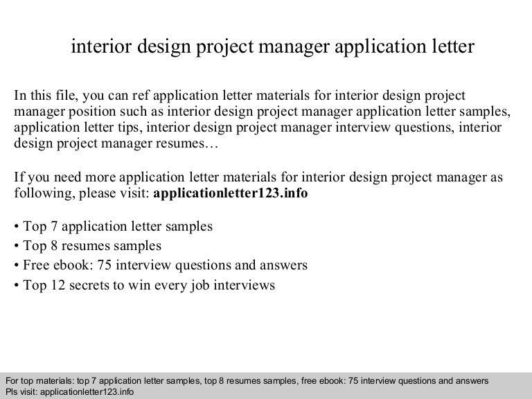 interiordesignprojectmanagerapplicationletter140922030310phpapp02thumbnail4jpgcb1411355015