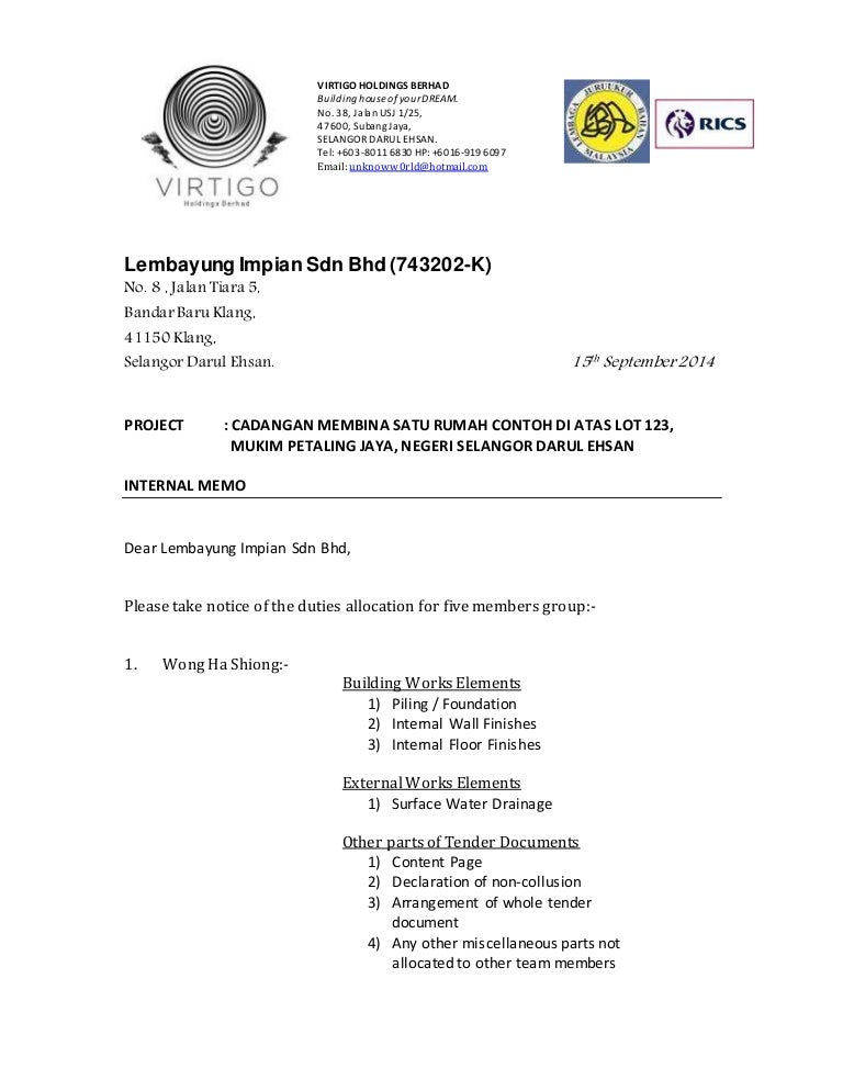 Internal Memo Templates Formal Memorandum Templates Business Memo