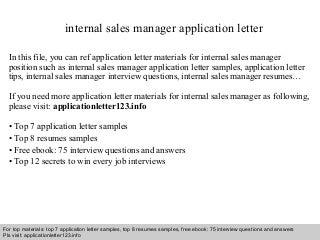 cover letter job posting sample cover letter internal job - Cover Letter Sample For Job Posting