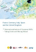 Internationalisation of european smes 2018