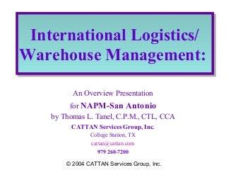 Logistics & Warehouse Management   LinkedIn