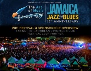 International Media Kit Jamaica Jazz & Blues 2011