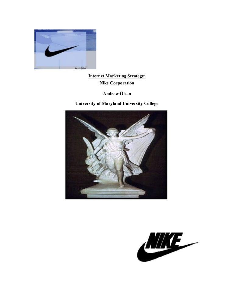 wholesale dealer b2941 3226f Internet marketing startegy for Nike