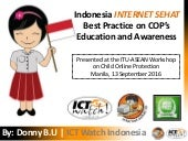 Indonesia Internet Sehat on Child Online Protection