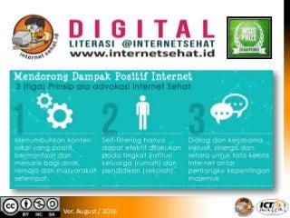 Internet Sehat dan Literasi Digital