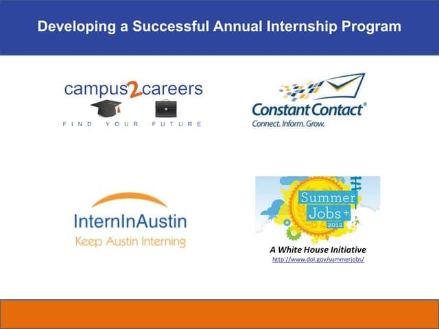 Internship fair workshop austin