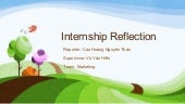 Project Lana - Internship Reflection
