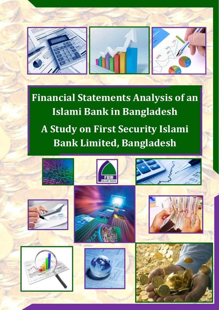 internship report on financial statements analysis of